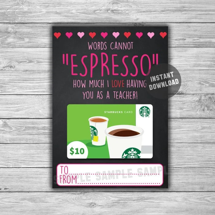 PRINTABLE Valentines Day Gift Card Holder INSTANT