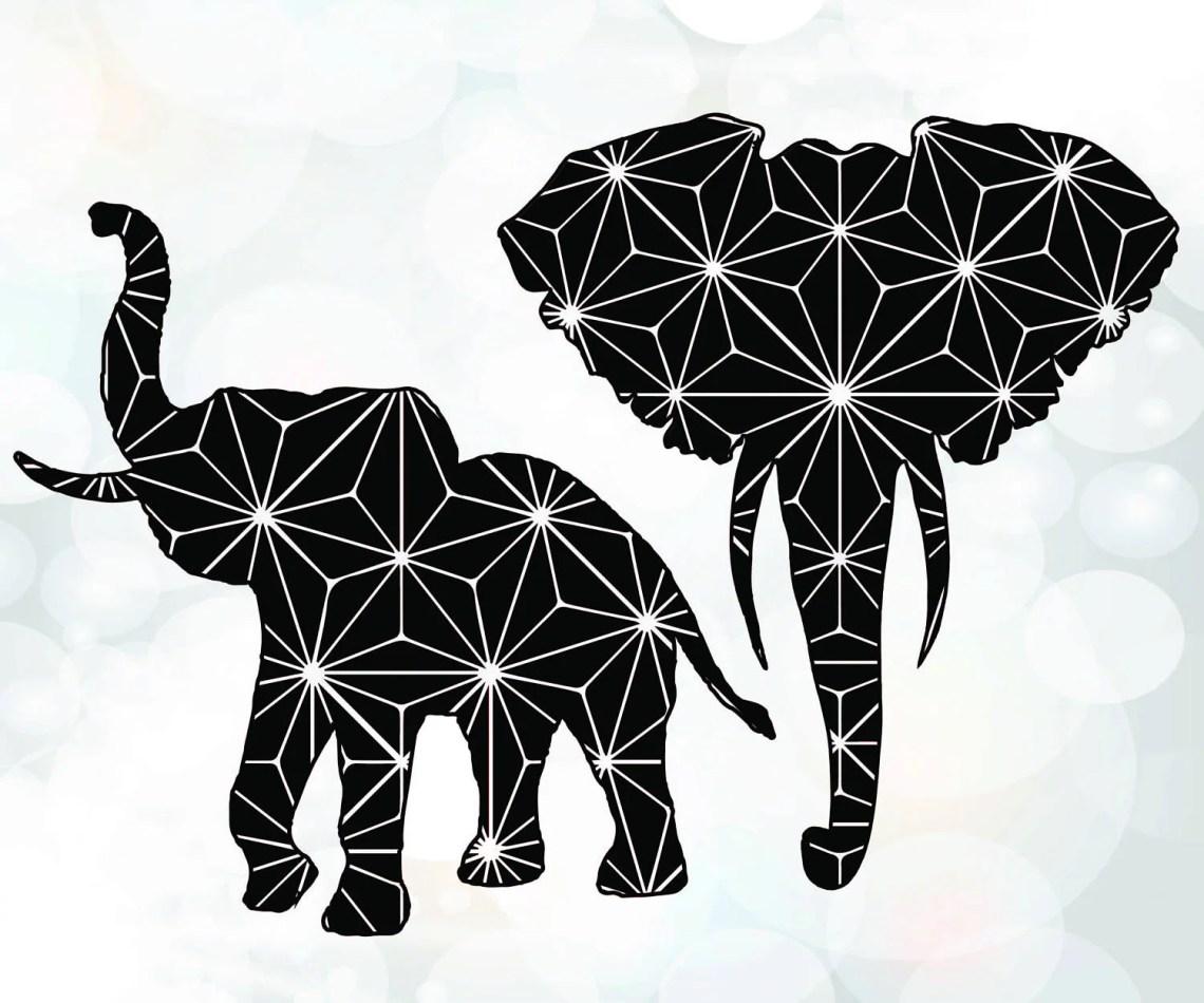 Download Elephants silhouette SVG - Elephant SVG for Cricut ...