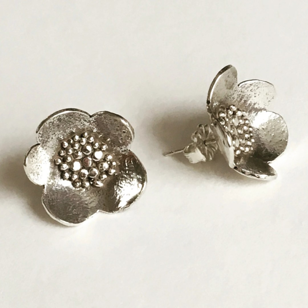 Large Sterling Silver Gra...