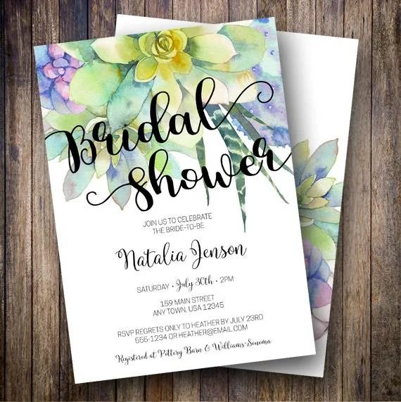 Bridal Shower Invitations Kinkos