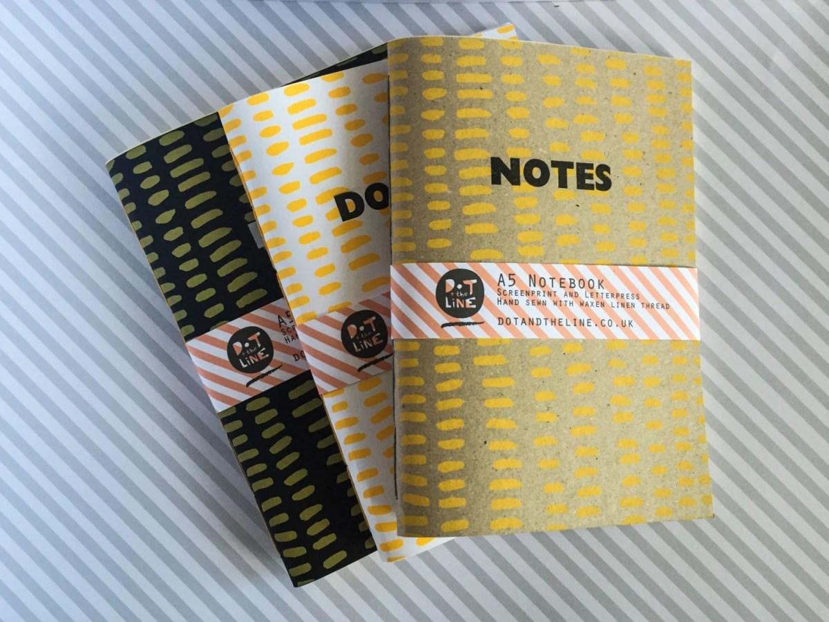 A5 Saddle Stitch Notebook...
