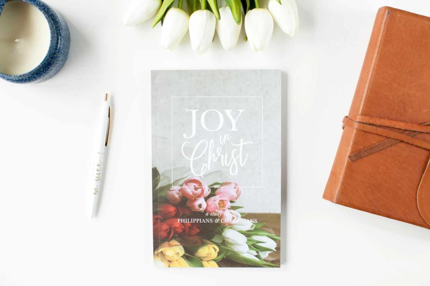 Joy In Christ Devotional Journal For Philippians And