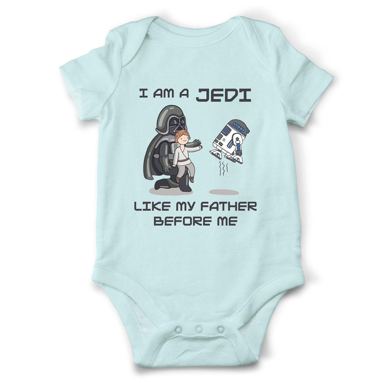 Star Wars Baby Boy Clothes Jedi Boy Bodysuit Funny Baby Boy