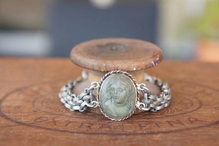 Antique Assemblage Bracel...