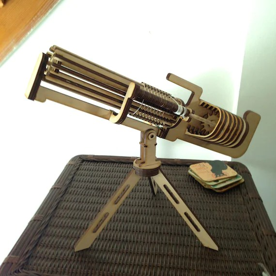 Band Rubber Gatling Gun