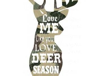 Download Deer love svg | Etsy