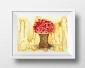 Flower Print - Floral Pai...