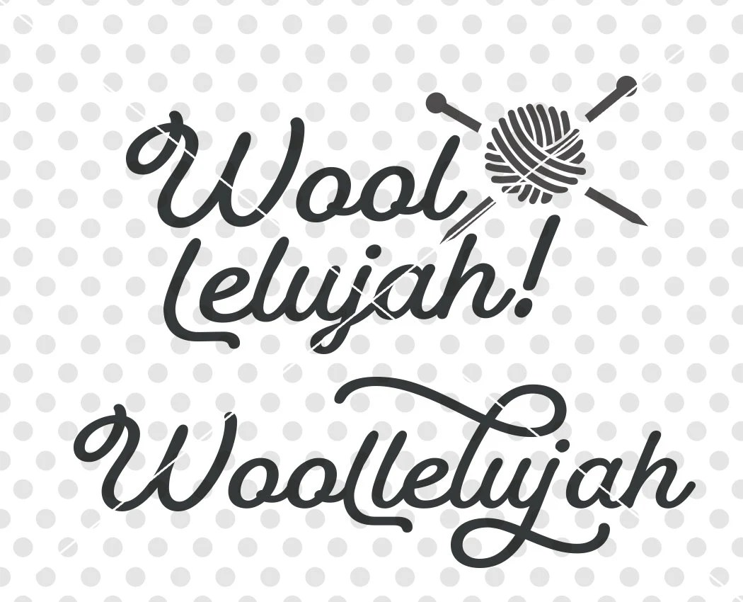 Download Wool SVG DXF Cutting File, Knitting Svg Dxf Cutting File ...
