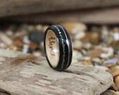 Tulip & Maple Wood Ring W...