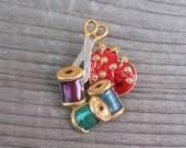 Sewing brooch, needlecraf...