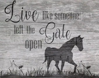 Horse Quote Svg Etsy