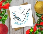 Modern Christmas Card: Pe...