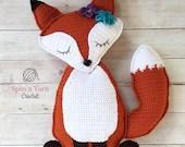 Ragdoll Fox Crochet Patte...