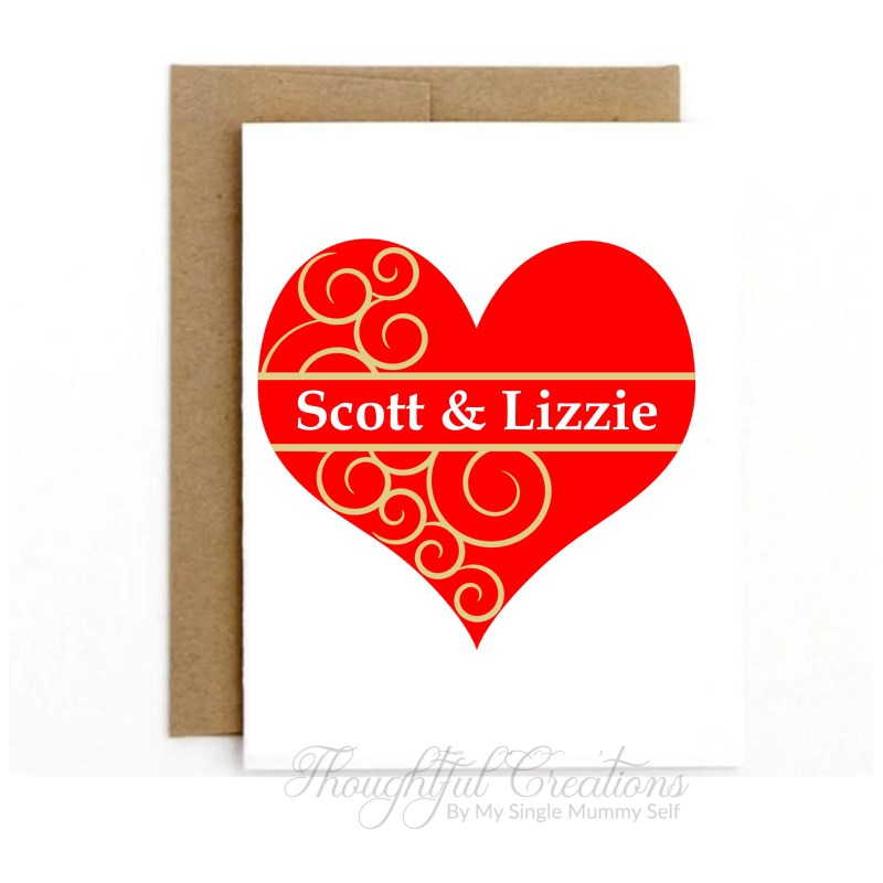 Valentines Day Card, Pers...