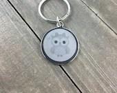 Owl dog tag • Owl cat t...