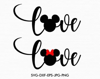 Download Mickey Minnie Love | Etsy Studio