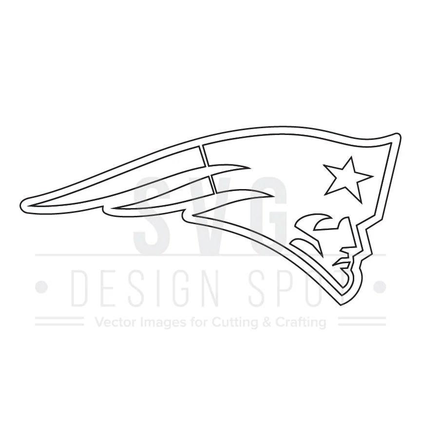 Download New England Patriots Logo Svg, Dxf, Eps, Png - NFL Svg ...