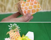 Pineapple Favor Box print...