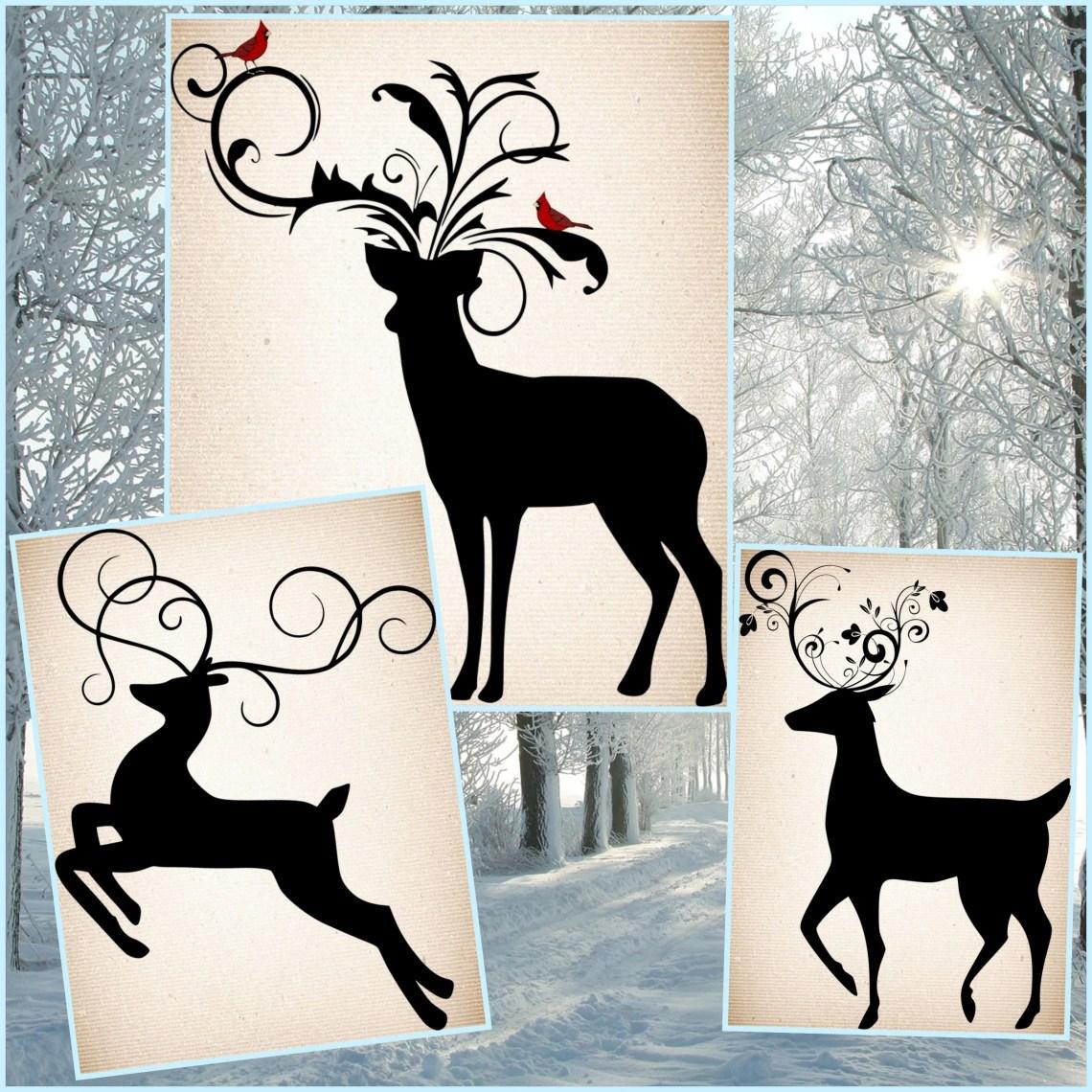 Download Christmas Reindeer SVG - Reindeer SVG files - Reindeer ...