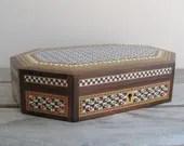 Vintage micromosaic box, ...