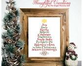 Christmas Print, Christma...