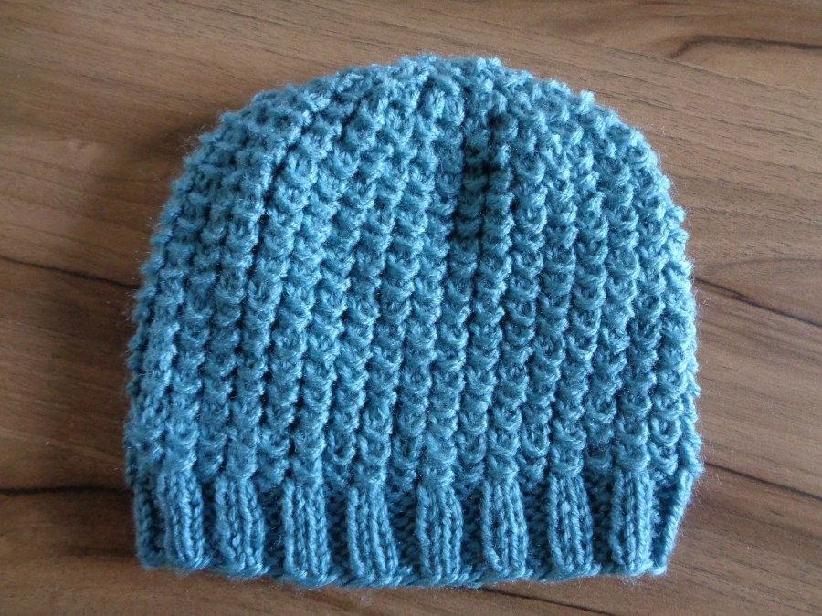 Bamboo Stitch Knitted Hat...