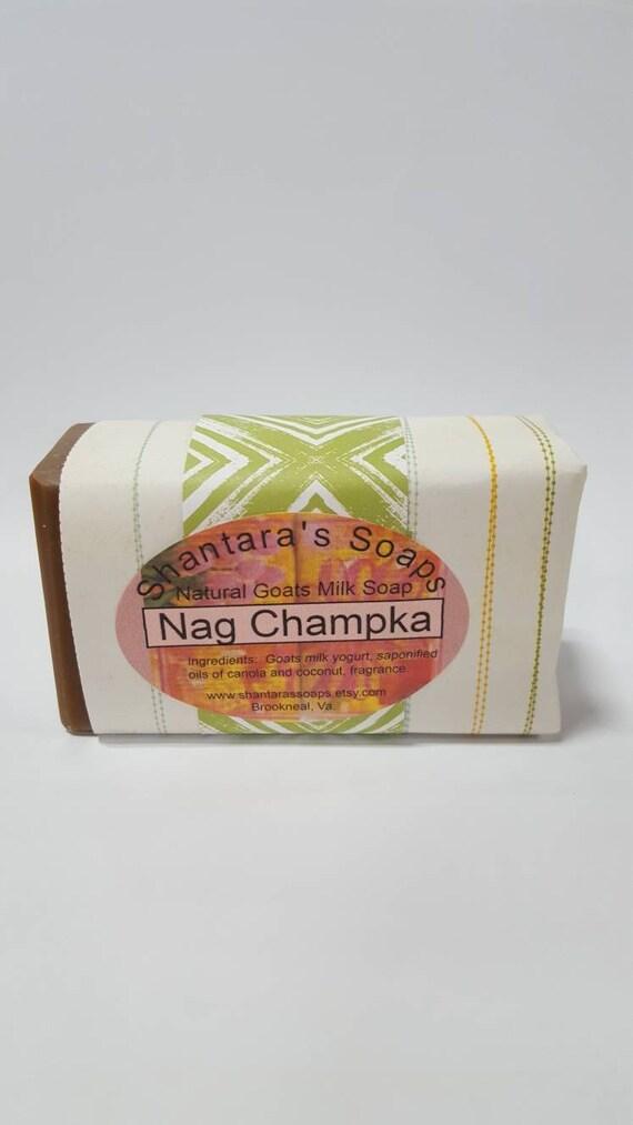 Goats Nag Soap Milk Champa