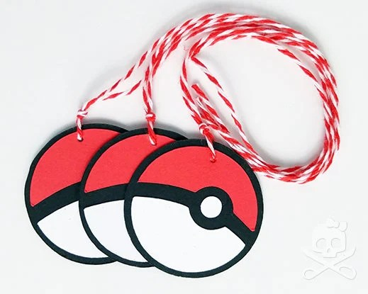 Pokeball Inspired Party F...