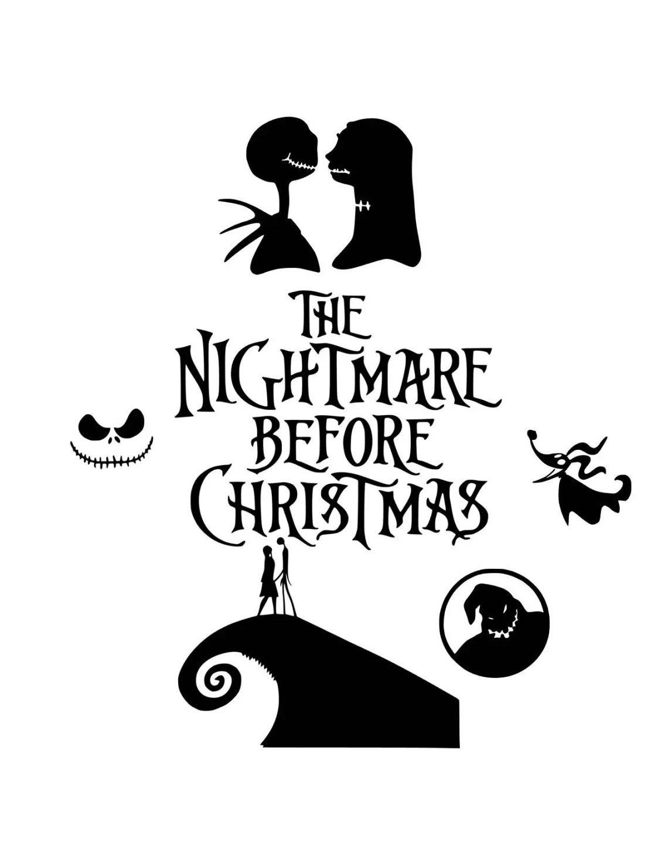 Download Nightmare before christmas svg halloween svg svg halloween
