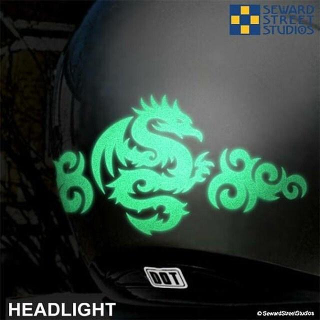 Reflective Motorcycle Helmet Decals Best Helmet - Motorcycle helmet decals graphics