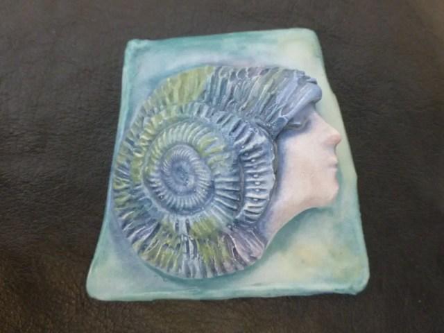 Handmade ceramic seashell...