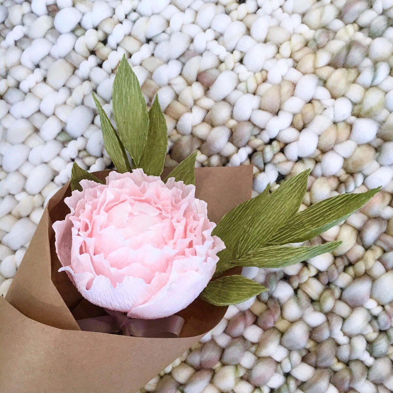 Ana Pink Paper Flower Bouquet
