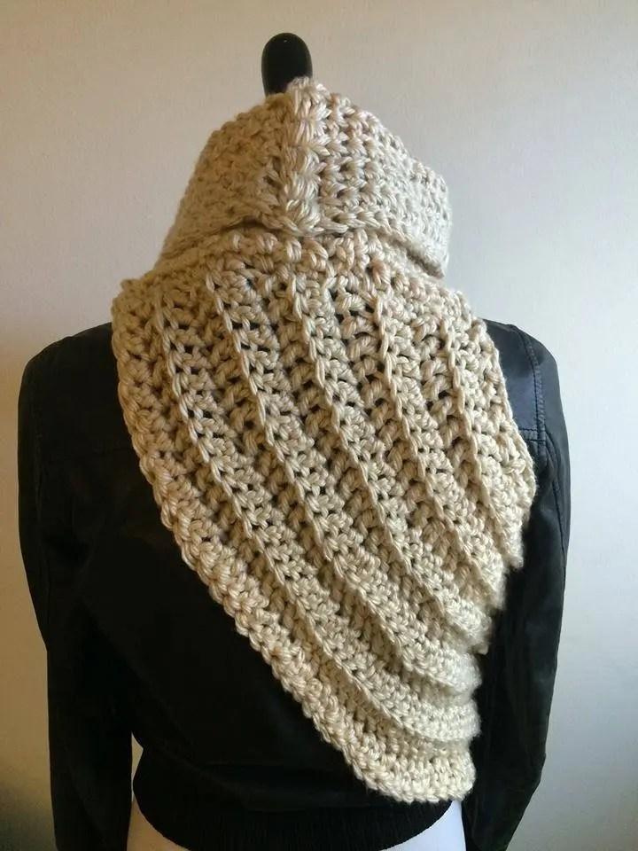 Katniss Cowl Crochet Pattern Only