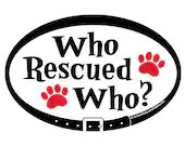 DECAL - Who Rescued Who? ...