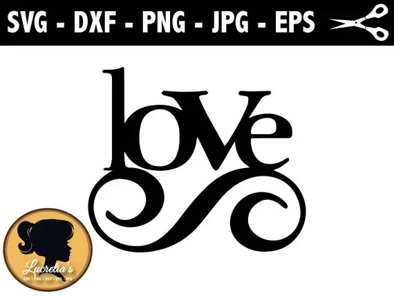 Download Love SVG Love Vector Art Clipart SVG files for Silhouette