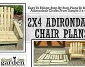 2x4 DIY Adirondack Chair ...
