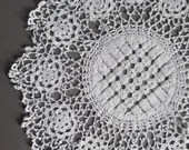 Antique crochet doily, ha...