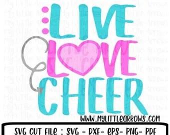 Download Cheerleader SVG Cheer SVG My Favorite Cheerleader Calls Me Mom