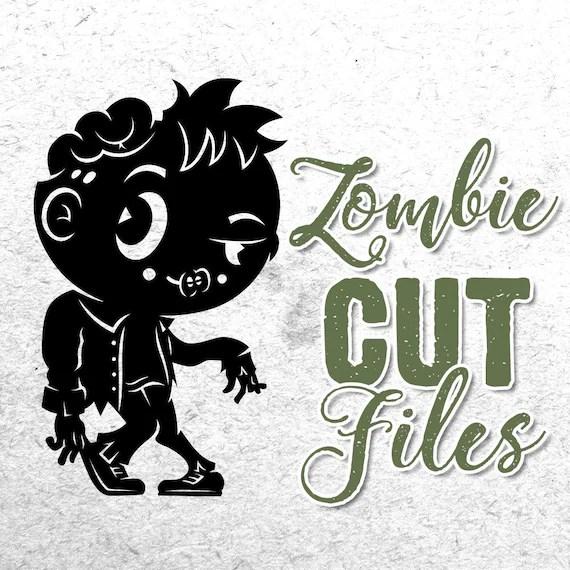 Download Halloween SVG. Zombie SVG. Cricut. Zombie silhouette. Zombie