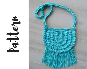 Crochet Boho Bag Pattern,...