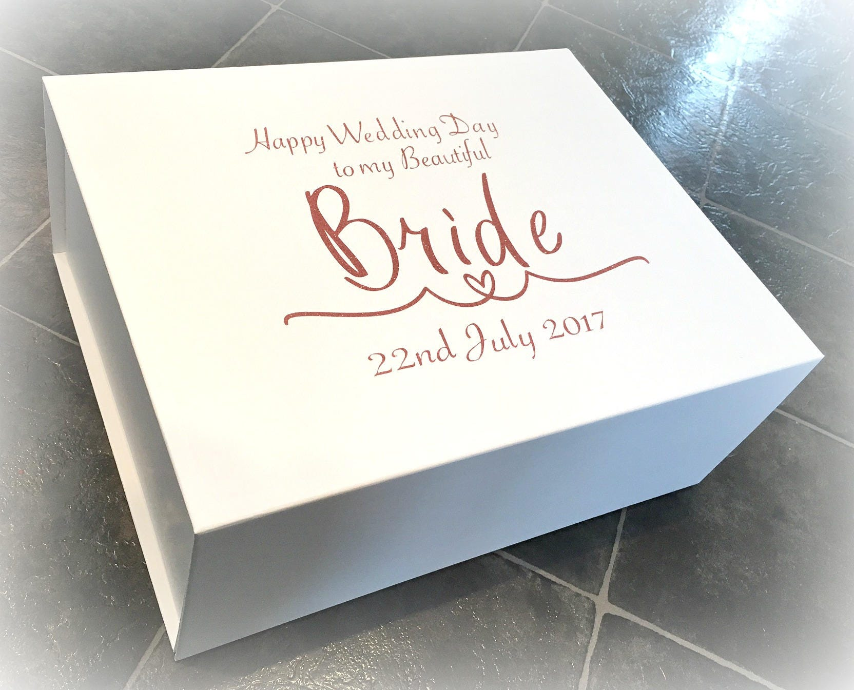 Luxury Extra Large Bride Gift Box Wedding Morning Bride Box