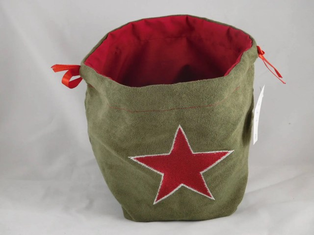 WWII Red Russian Star emb...