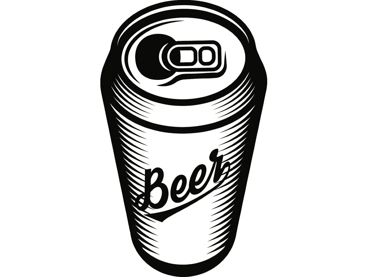 Beer Can 2 Bar Pub Tavern Bartender Aluminum Six Pack Drink