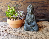 Small Black Buddha Statue...