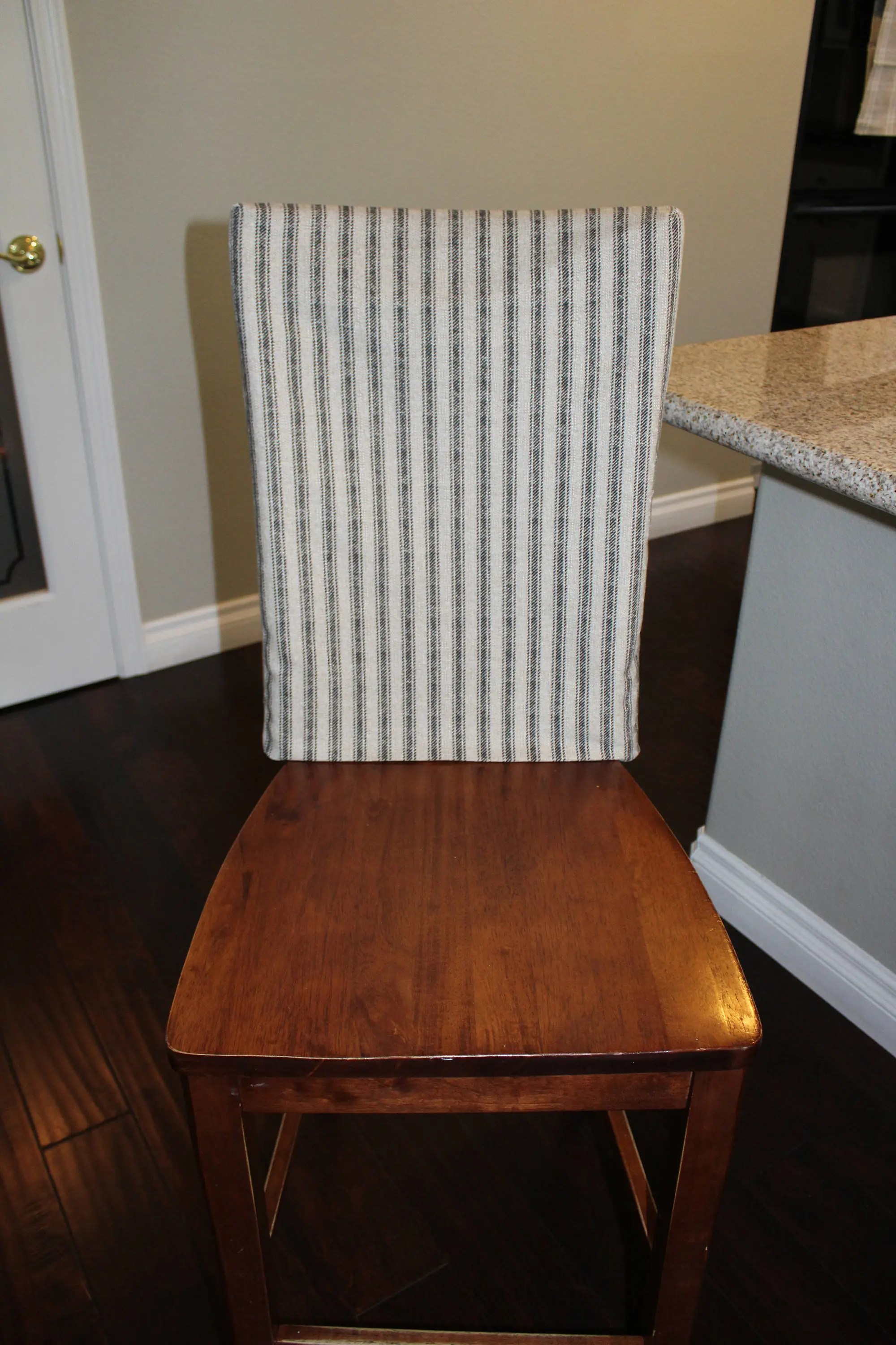 Kitchen Chair Slipcover Chair Back Cover Dining Room Chair