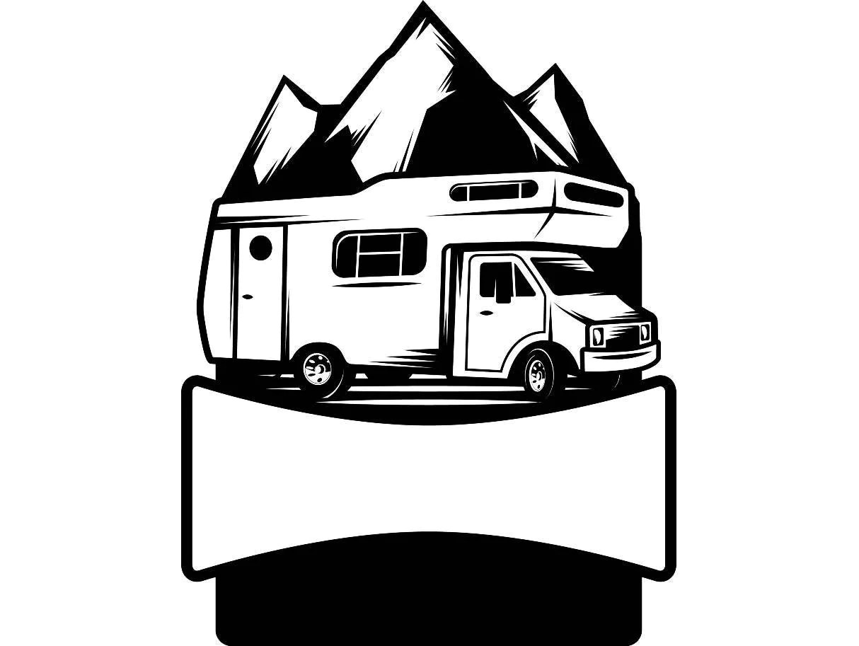 Camping Logo 8 Motorhome Camper Recreational Vehicle Rv Camp