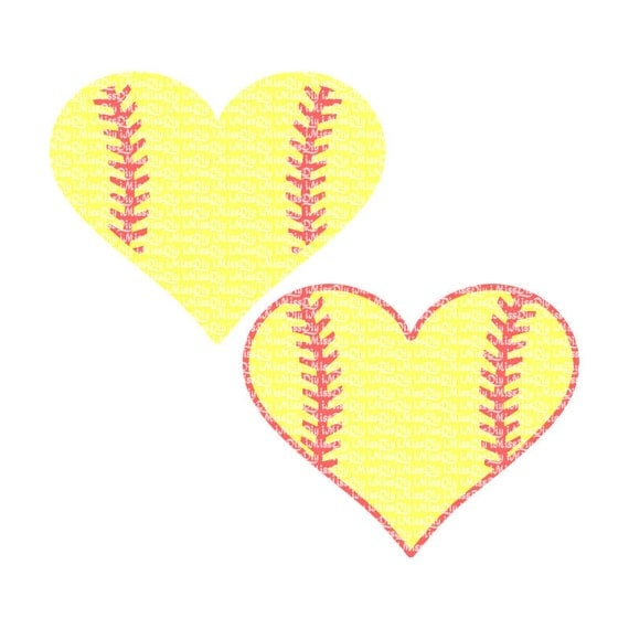 Download Love Softball svg baseball Mom svg heart stitches laces ...