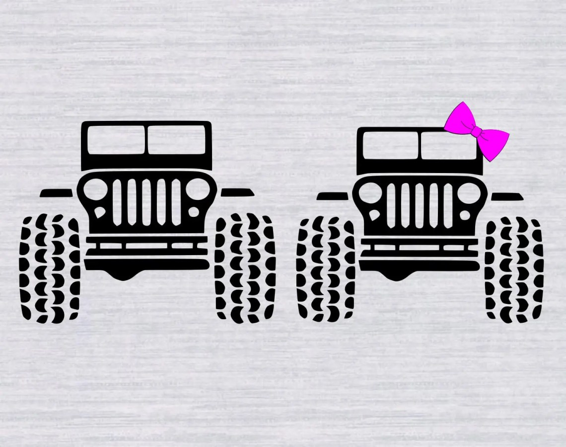 Download Jeep SVG Bundle - Jeep DXF - Jeep Clipart - Svg Files for ...