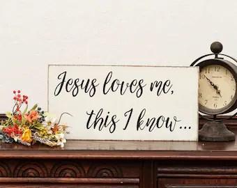Download Jesus loves me | Etsy