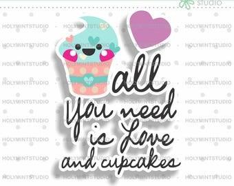 Download Cupcake svg | Etsy